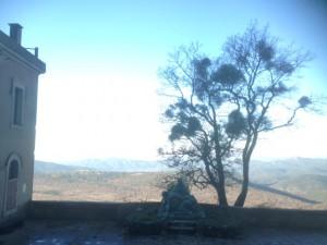 uitzicht grot st Baume